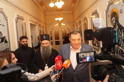 Dodik o posjeti Porfirija: Prilika za nadahnuće kada je patrijarh u Srpskoj (FOTO)