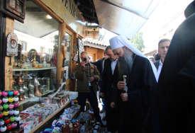 NIJE BILO INCIDENATA Kantonalna policija obezbjeđivala patrijarha u Sarajevu