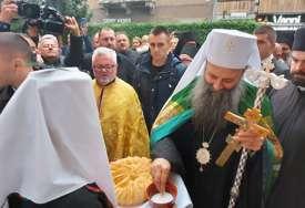 PRVA POSJETA Patrijarha Porfirija u Sarajevu dočekali brojni vjernici (FOTO)