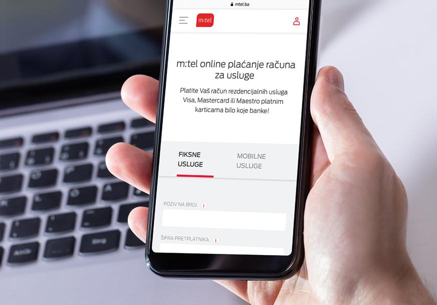 Jednostavno, brzo i bez provizije: Najbolje mjesto za plaćanje m:tel računa - www.mtel.ba