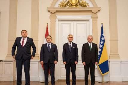 Članovi Predsjedništva se sastali sa ministrom Linhartom: BiH prioritet spoljne politike Austrije