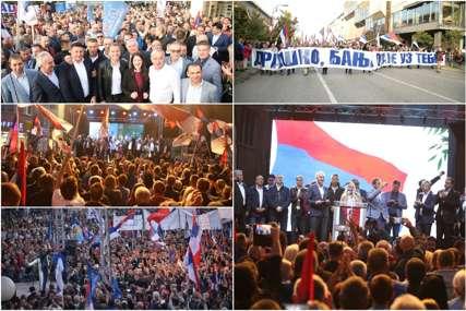 Vlast i opozicija u klinču: Koliko je građana BILO NA PROTESTIMA (FOTO)