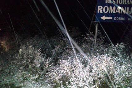 Na Romaniji prve pahulje u ovoj sezoni: Temperatura pala na nula stepeni