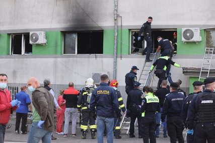 UŽAS U RUMUNIJI Devet osoba poginulo u požaru u kovid bolnici, pacijenti skakali s prozora (FOTO, VIDEO)