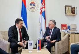 MIR NEMA ALTERNATIVU Stevandić i Kalabuhov razgovarali o političkoj situaciji u BiH (FOTO)