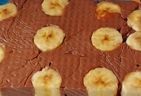 GOTOVA ZA 15 MINUTA Torta od banana i pudinga
