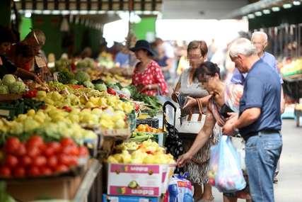 Poskupljuje nit' tiho, nit' blago: Povrće i voće domaće, a cijene evropske