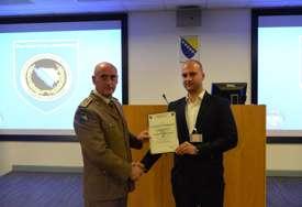PRIZNANJE Inspektor Trivanović izabran za najboljeg polaznika UN obuke za mirovne misije