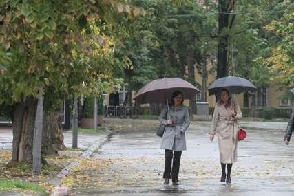 POGORŠANJE VREMENA Sutra pretežno oblačno sa slabom kišom