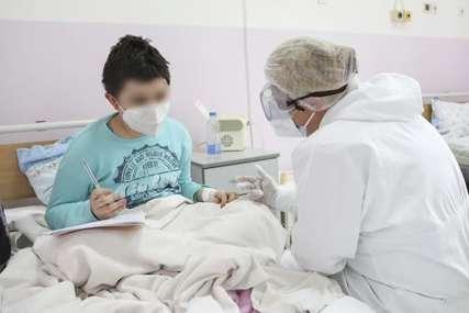 """""""NE MOGU DA UDAHNEM MAMA"""" Stefan (10) se zarazio koronom i za samo tri dana  došao do toga da jedva diše"""
