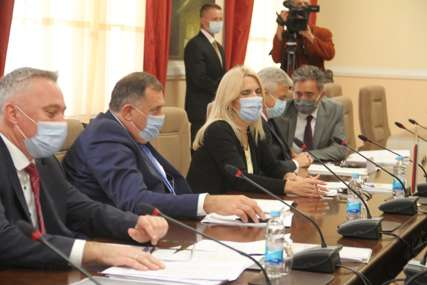 OPOZICIJA NE PRISUSTVUJE Počeo sastanak Cvijanovićeve sa predstavnicima institucija i parlamentarnih stranaka u Palati Republike (FOTO)